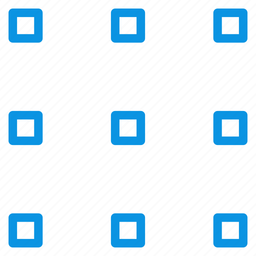 grid, layout, view icon