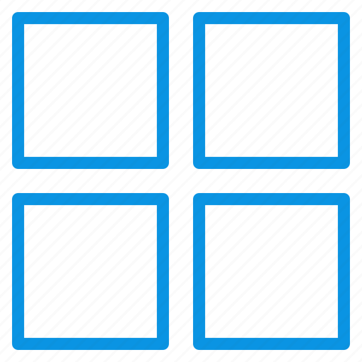 grid, layout, thumbnails icon