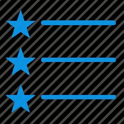 layout, list icon