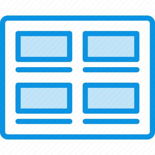grid, images, posts icon