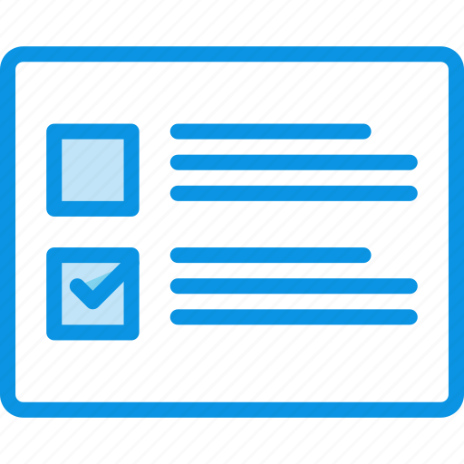 checkboxes, grid, layout, list, wireframe icon