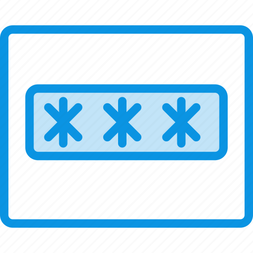 field, grid, input, layout, password, text, wireframe icon