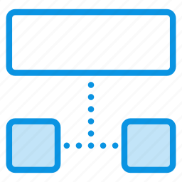 grid, layout, list, sitemap, structure, wireframe icon