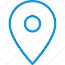 gps, marker, pin icon