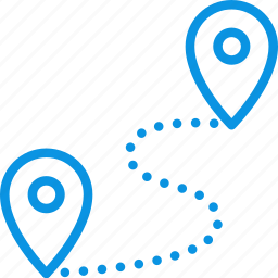 coordinate, gps, locate, location, map, pin, route icon