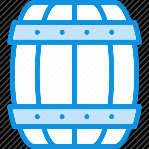 barrel, beer, marinade, marine, nautical icon