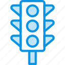 lights, road, traffic, transport icon