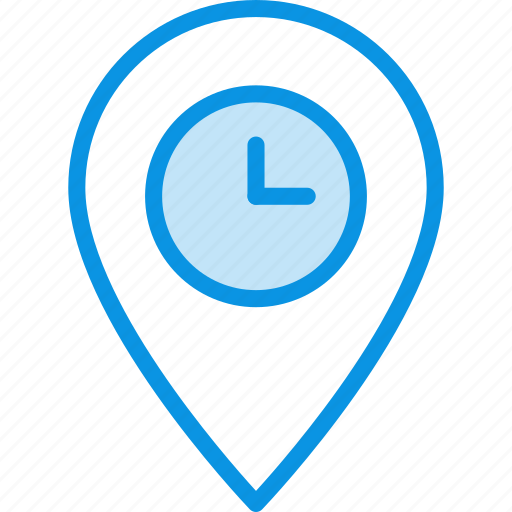 geo, location, spend, targeting, time, waiting icon