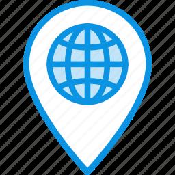 geo, global, location, planetary, solar, targeting, universe icon