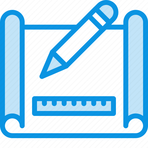 create, drawing, scheme icon