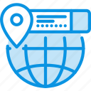 coordinate, earth, geo, globe, info, location, targeting icon