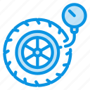 pressure, pump, wheel icon
