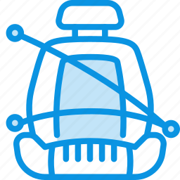 belt, car, chair, safety, seat icon