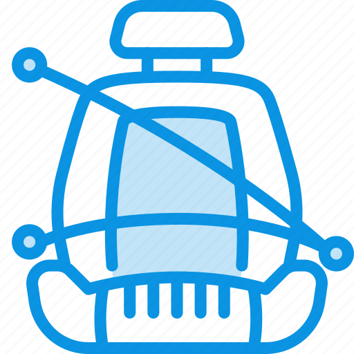 Belt, chair, safety icon - Download on Iconfinder