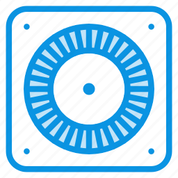 electro, engine, fan, front, industrial, mechanic icon