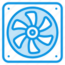 blower, cooler, fan icon