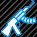 gun, kalashnikov, rifle