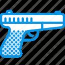 gun, pistol