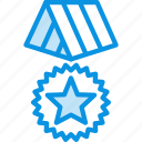 medal, reward, award