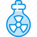 atomic, nuclear, radiation icon