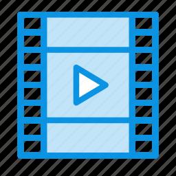 film, media, play icon