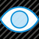 eye, view