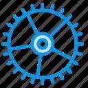 control, gear icon