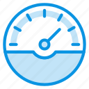 dash, gauge, speed icon
