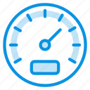 gauge, performance, speed icon