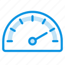 gauge, meter, speed icon