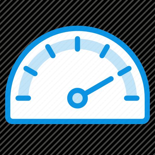 gauge, meter, speed icon