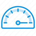 gauge, measure, speed icon
