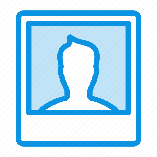 man, photo icon