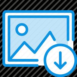 download, image, photo icon