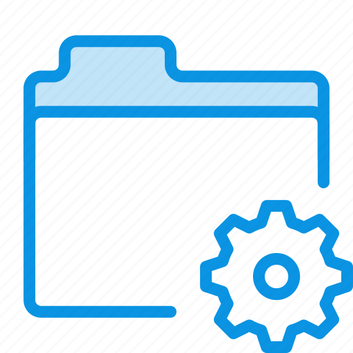 files, folder, settings, storage icon