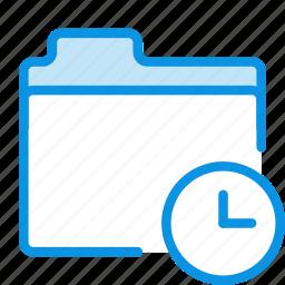 backup, folder, history icon