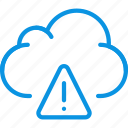 alert, cloud, data icon
