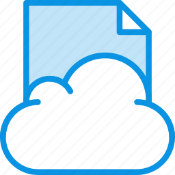 cloud, data, file, files, storage icon