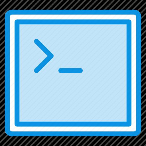 app, application, code, console, terminal, window icon