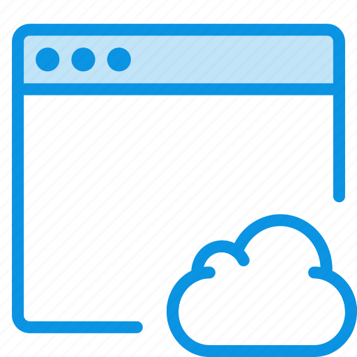 app, cloud icon