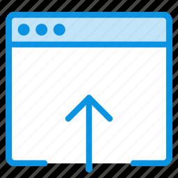 app, application, import, mac, upload, window icon