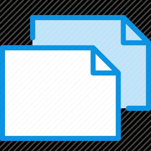copy, document, duplicate, file, horizontal, landscape, sheet icon