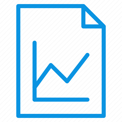 document, file, graphic, page, paper, sheet, statistics icon