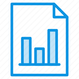 chart, document, file, graphic, page, paper, sheet icon
