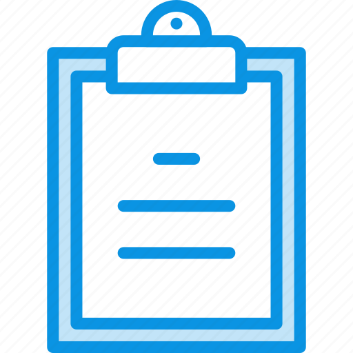 clipboard, task, text icon