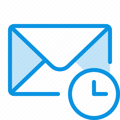 history, mail, time icon