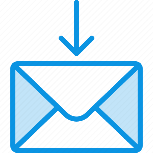 mail, message, receive icon