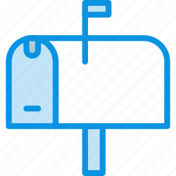 mail, post, postbox icon