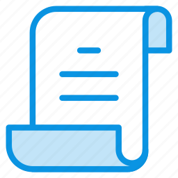 document, file, log, page, script, sheet, text icon