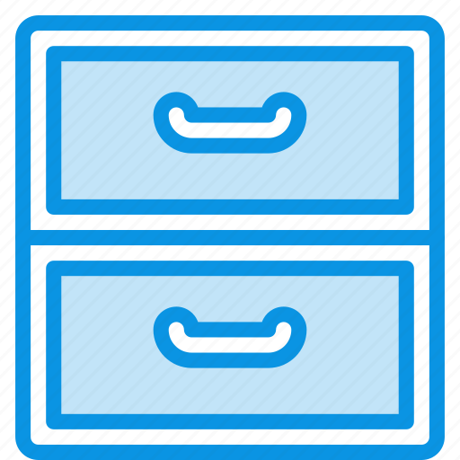 archive, cabinet, drawer icon